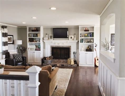 home simple  split level fixer upper living