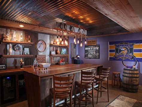 Rustic Bar Ideas by 15 Distinguished Rustic Home Bar Designs For When You