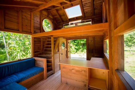 Jay Nelson's New Tiny House In Hawaii  The Shelter Blog