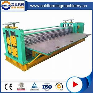 High Accuracy Elegant Appearance Manual Roof Tile Machine