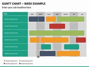 Gantt Chart Powerpoint Template Sketchbubble