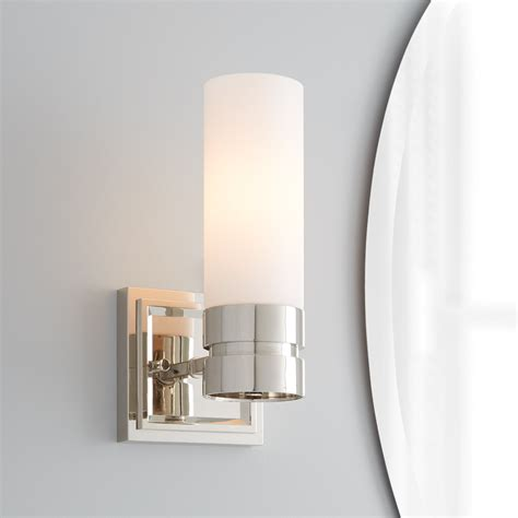 Single Light Bathroom Wall Sconce by Como Vanity Sconce Single Light Bathroom