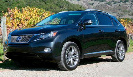 Best Suv 2010 by Best Car For All 2010 Lexus Rx 450h Suv Performance And