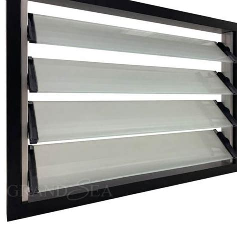 black frame jalousie windows glass design price philippines  sale chinablack frame
