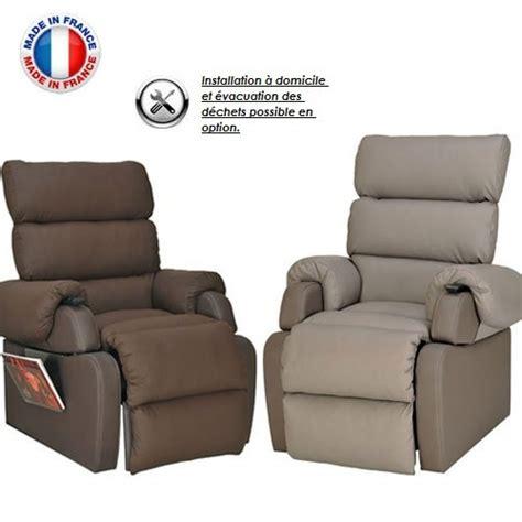 canape massant electrique fauteuil relax releveur electrique 2 moteurs 100