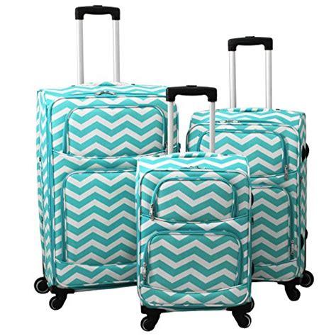 light blue luggage sets best chevron luggage chevron luggage sets rolling
