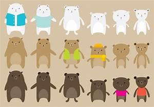 Cute Bear Vectors - Download Free Vector Art, Stock ...