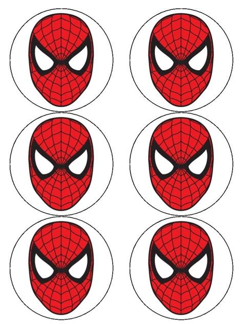 spiderman face printable spiderman face mask spiderman