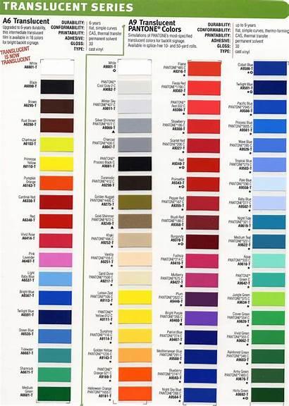 Translucent Colors Portfolio Signs
