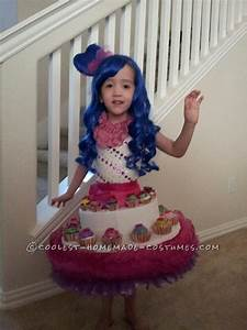 Cute Girl's Katy Perry and her Cupcake Dress Costume ...