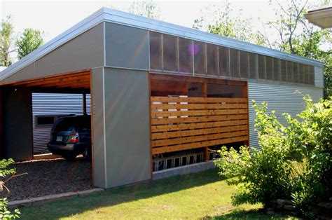 Contemporary Garage Designs by Contemporary House With Attached Garage Plans