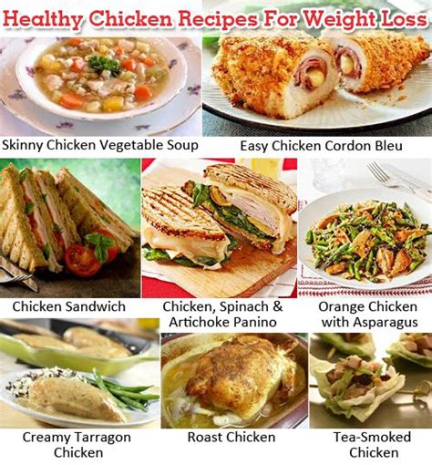 healthy chicken recipes  weight loss
