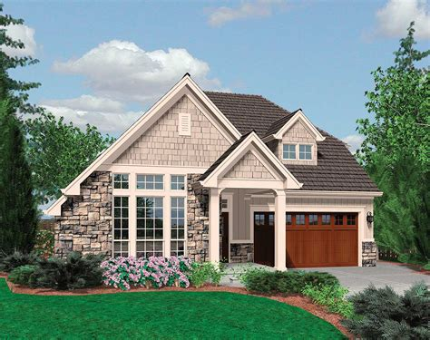 House Plans With Vaulted Ceilings by Small Family Cottage Plan With Vaulted Ceilings 69125am