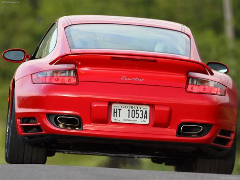 turbo porsche red 2007 red porsche 911 turbo wallpapers