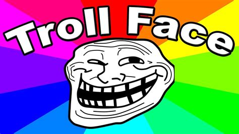 Meme Troll Face - who created troll face the origin of a meme trollface youtube