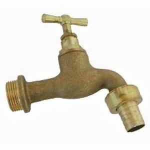 robinet en laiton 15 x 21 20 x 27mm castorama With ajouter un robinet exterieur