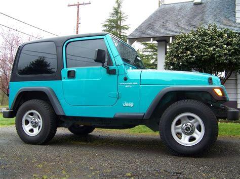 aqua jeep wrangler 13 best images about jeep color on pinterest jeep
