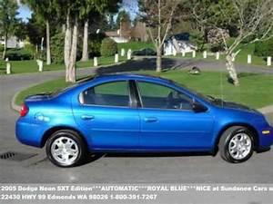 2005 Dodge Neon SXT Edition AUTOMATIC ROYAL BLUE