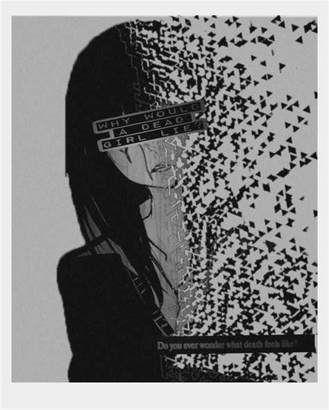 Sad Anime Pfp Black And White Pin On Mage Wizard