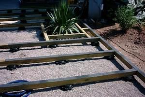 terrasse en bois ou composite a saint die des vosges 88 With pose de terrasse sur plot