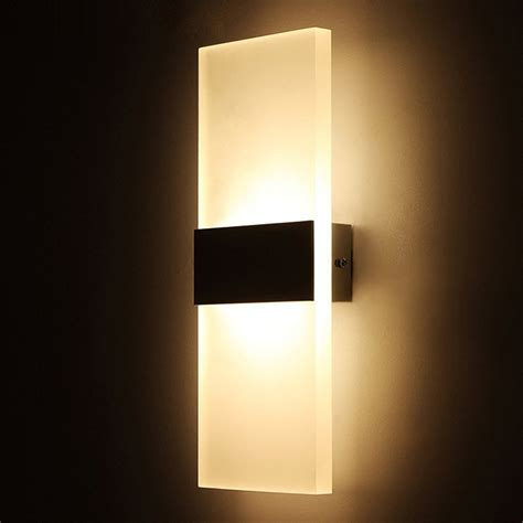 Bedroom Wall Lights Modern by Geekercity Modern Acrylic 6w Led Bedroom Wall
