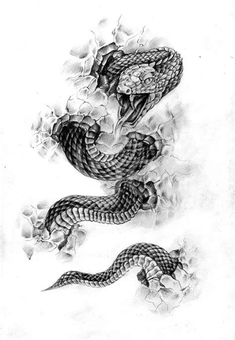 TATTOOS: Snake Tattoo Stencils