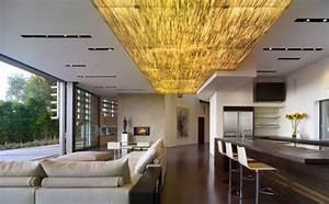 Moderne Holzdecken Beispiele : understated radiance dazzling recessed lighting for warm and inviting modern interiors ~ Markanthonyermac.com Haus und Dekorationen