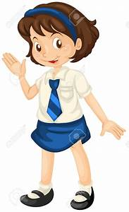 Get Dressed School Uniform Clipart - ClipartXtras