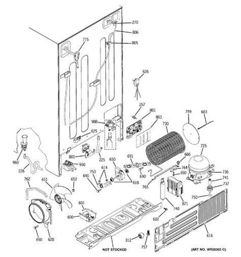 kenmore refrigerator 106 schematic diagram