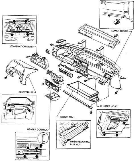 repair guides interior instrument panel  pad