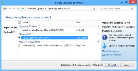 free windows 10 upgrade from windows 8