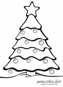 christmas decorations coloring pages kids cooloring com