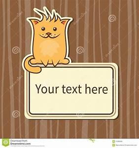 Funny Cartoon Cat Royalty Free Stock Photo - Image: 31983685