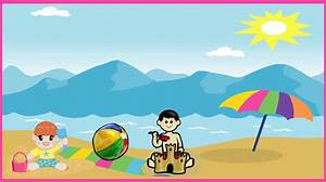 Beach Clipart | New Calendar Template Site