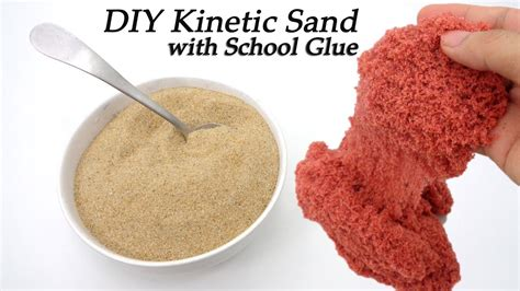 diy kinetic sand diy kinetic sand you need school glue sand water color ariel at home