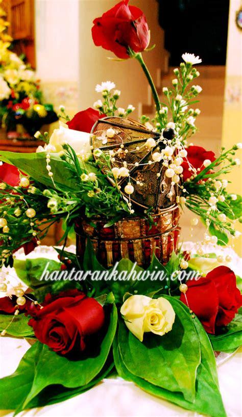 hantaran kahwin gubahan hantaran  bunga  kajang