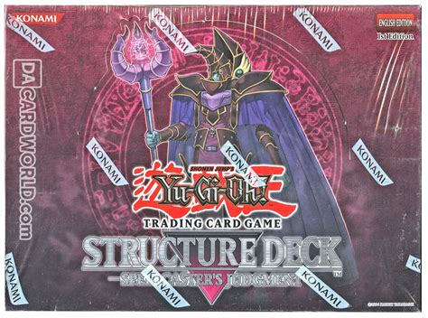 Spellcasters Judgement Structure Deck by Deck Yu Gi Oh Spellcaster S Judgment Structure Deck