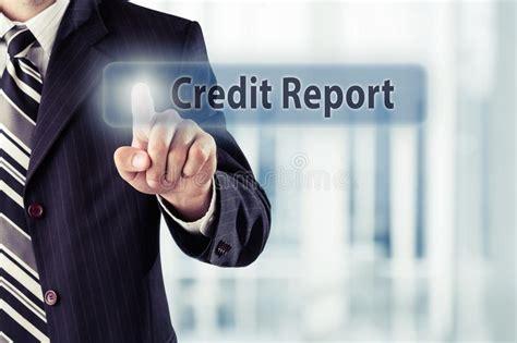 credit report score button  virtual screen business