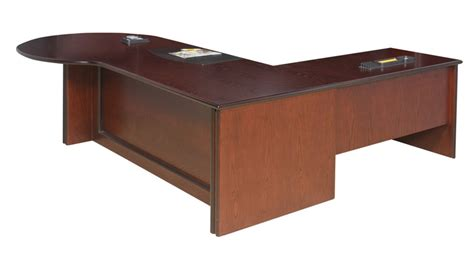 office desk with return regent executive p end desk with return