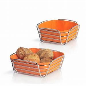 Corbeille à Pain Design : corbeille pain design delara blomus orange achat vente corbeille pain design orange ~ Teatrodelosmanantiales.com Idées de Décoration