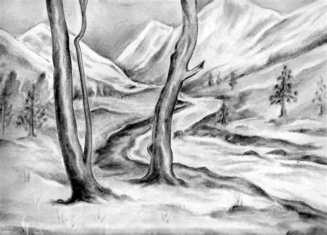 pictures natural scenes  drawing art drawings art