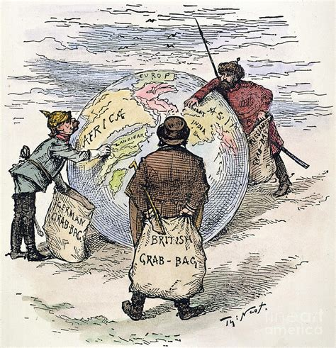 labor day sales on tv imperialism 1885 drawing by granger