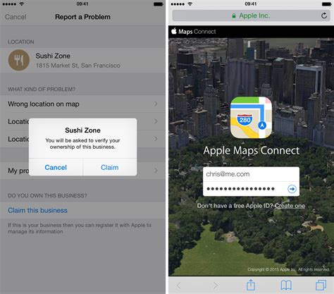 business owners can now claim pois as their own via apple