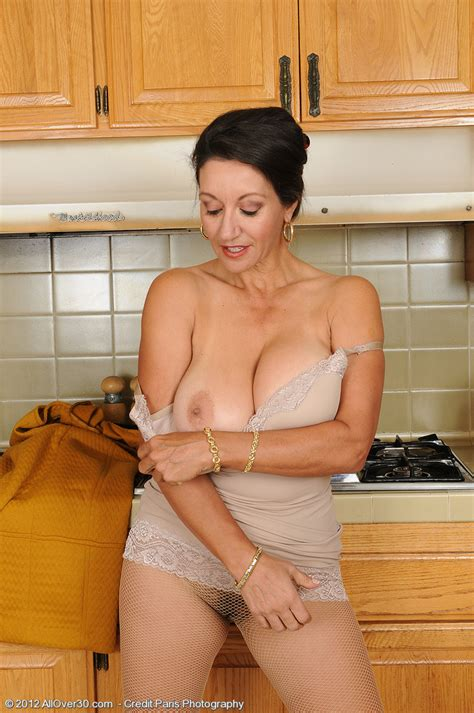 Alluring Brunette Milf Persia Display Her Twins Milf Fox