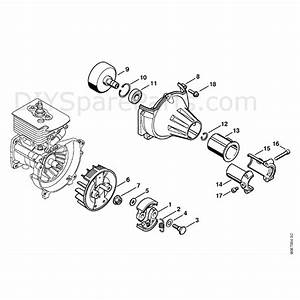 Stihl Ht 73 Pole Pruner  Ht73  Parts Diagram  Clutch
