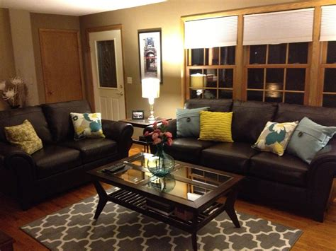 Luxury Living Room Brown Leather Sofas Best Site Wiring