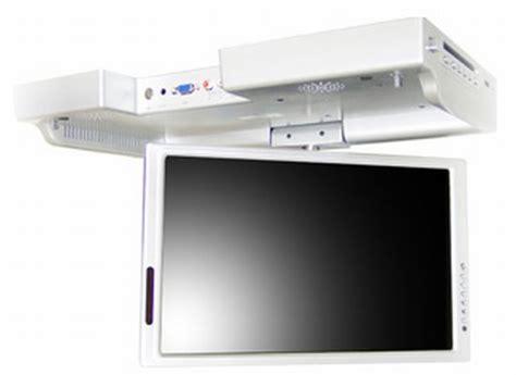 cabinet flip kitchen tv waview flip tv lets you enjoy tv in the kitchen 9521
