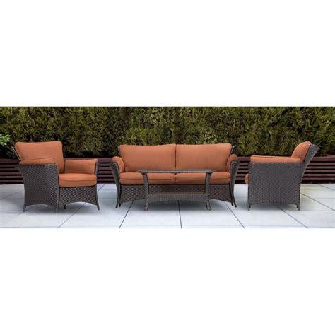 hanover strathmere 4 patio conversation set