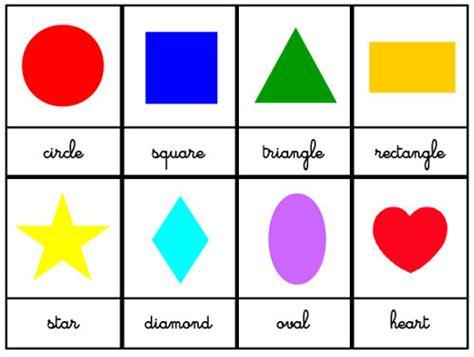 formes geometriques en anglais crapouillotage anglais les formes