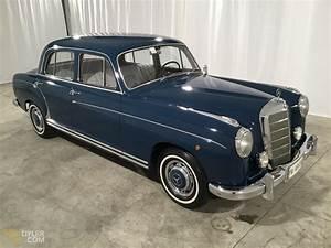 Mercedes 220 Coupe : classic 1957 mercedes benz 220s ponton sedan saloon for sale 1197 dyler ~ Gottalentnigeria.com Avis de Voitures